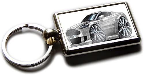 Amazon.com: Koolart Cartoon Car Aston Martin DB9 - Llavero ...