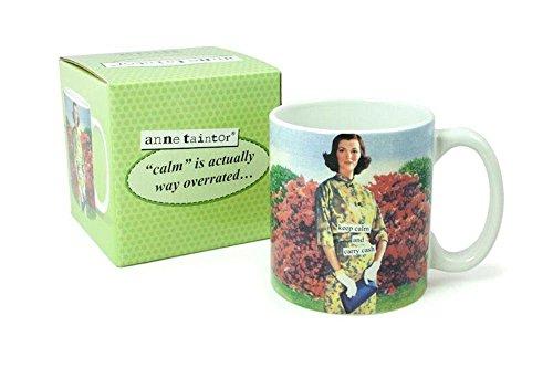 Anne Taintor Coffee Mug - Keep Calm And Carry Cash
