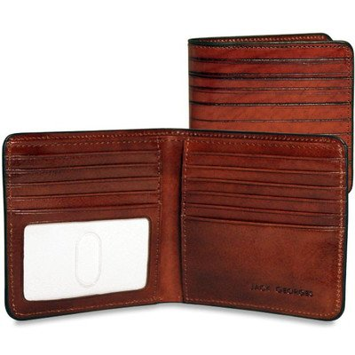 Monserrate Bi-Fold Hipster Wallet by Jack Georges