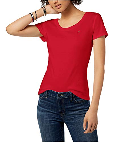 Buy tommy hilfiger women tshirts with logo