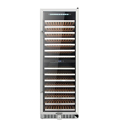 "24"" Thor Kitchen 155 Bottles Wine Cooler Refrigerator 15.11cu.ft 15 Wooden Shelves ()"