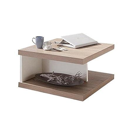 Amazon De Generic Couchtisch Tisch Wohnzimmer Eiche Sägerau