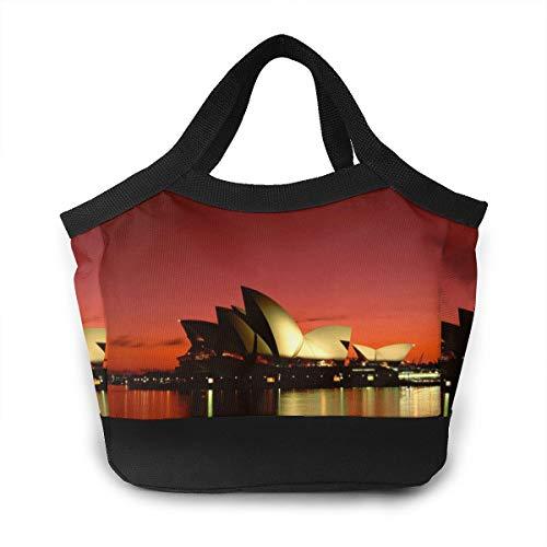- Lunch Bag Sydney Opera House Insulated Cooler Lunch Bag Women Men