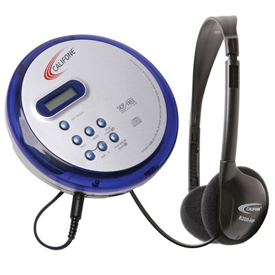 Califone CD-102 Personal CD Player with 8200-HP Headphones by Califone