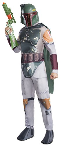 Star Wars Rubie's Costume Co Men's Classic Boba Fett Costume