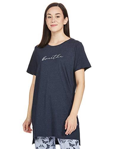 Enamor Women's Relaxed Tunic Shirt