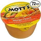 Mott's Mango Peach Applesauce 6/4oz Cups (Pack of 6) (36 Cups Total)