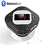 AGPTEK Waterproof Bluetooth Shower Speaker Image