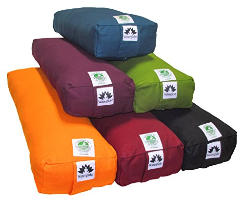 Waterglider International Rectangular Pranamaya bolster, ORGANIC COTTON