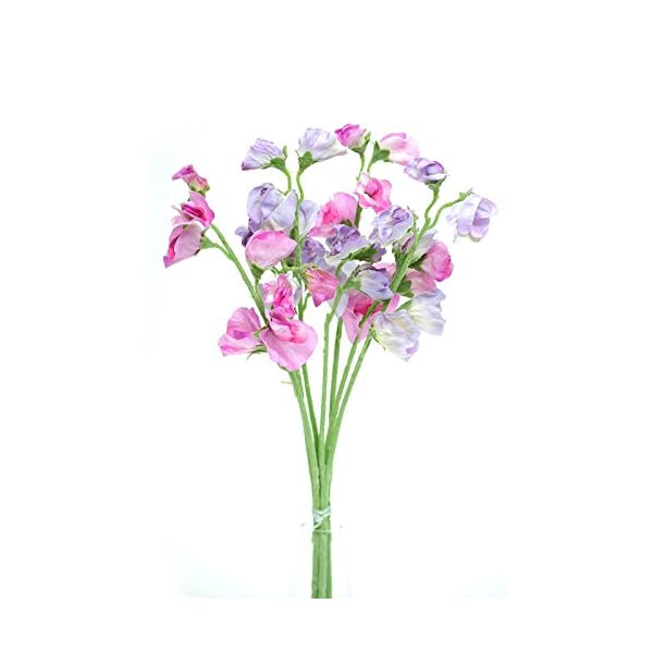 Artificial Sweet Pea Flowers