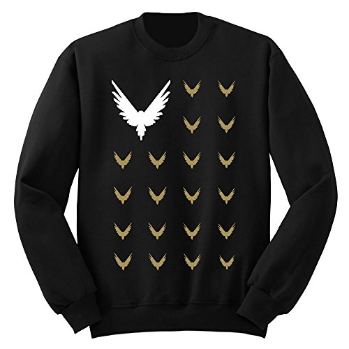 Logang Maverick Club Kids Crewneck Sweatshirt(Black, X- Large/14-16 yrs)