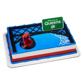amazon com spider man homecoming welcome to queens cake decorating