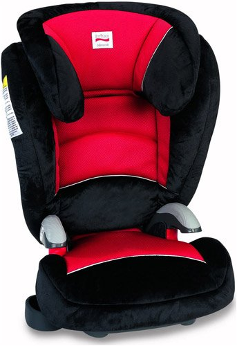 Britax Monarch Booster Car Seat Red Racer
