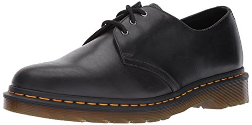 Dr.Martens Mens 1461 3 Eyelet Leather Shoes Gunmetal