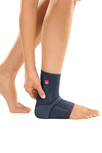 Medi Achimed Knit Ankle Support for Men & Women (Silver) Size IV by Medi Ortho (Image #2)