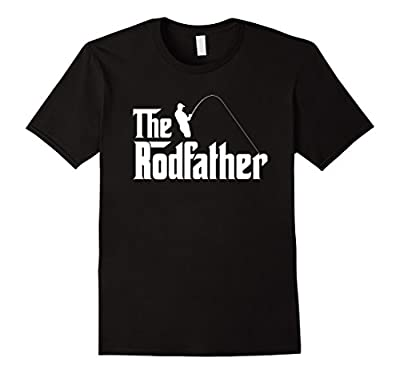 Mens The Rodfather - funny fishing t-shirt