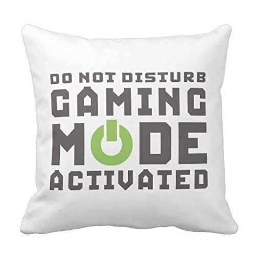 - Shower Curtain Funny Gamer Pillow case 18