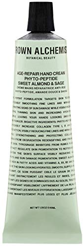 Grown Alchemist Age-Repair Hand Cream - Phyto-Peptide, Sweet Almond & Sage (40ml / 1.35oz)