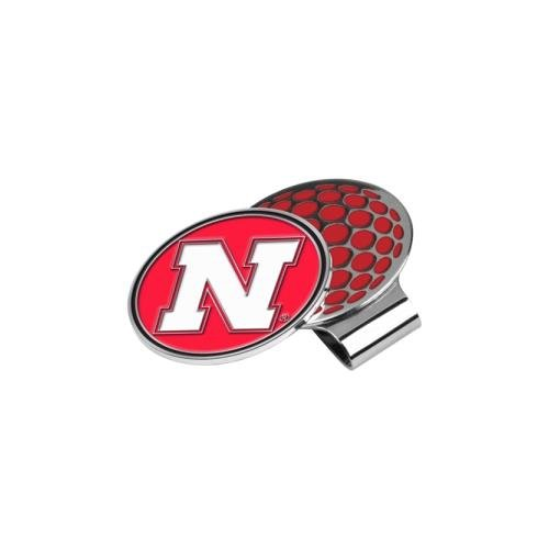 - LinksWalker NCAA Nebraska Cornhuskers Golf Hat Clip with Ball Marker