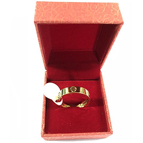 Frederic Wilkins Love Ring-Lovers Lifetime Just Love You with Gold Ring(Size: 5-10) (Gold, 6) by Frederic Wilkins (Image #4)