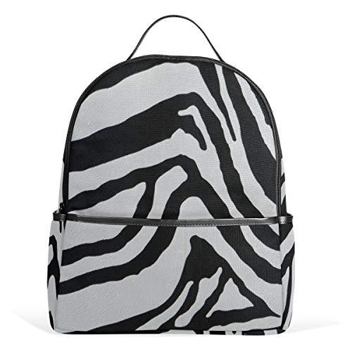 (Yokii Zebra Camouflage Chic Casual fashion Backpack )