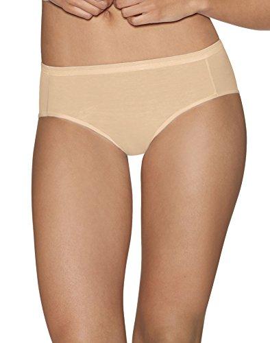 "Hanes Ultimateâ"" Comfort Cotton Women's Hipster Panties 5-Pack"