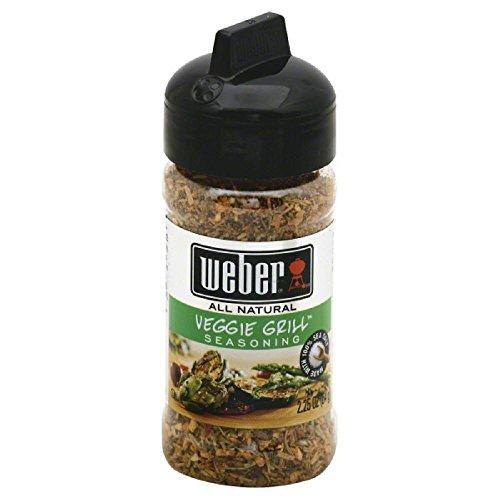 Weber Veggie Grill Seasoning, 2.25 oz