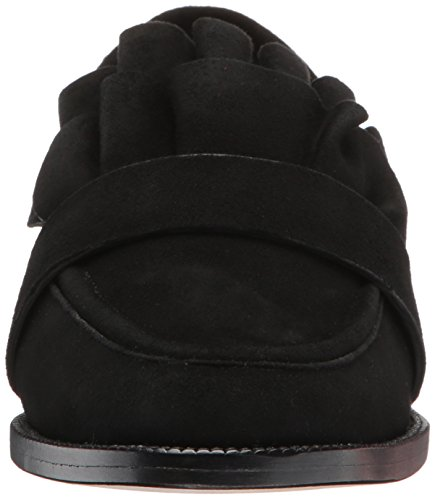 Voor De Overwinning Tenley Vrouwen Platte Zwarte Loafer