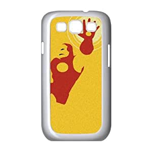 Samsung Galaxy S3 9300 Cell Phone Case White_Tony Stark Iron Man Zfdau