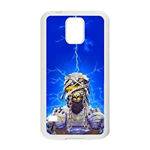 Samsung Galaxy S5 Cell Phone Case White Iron Maiden JSK903983