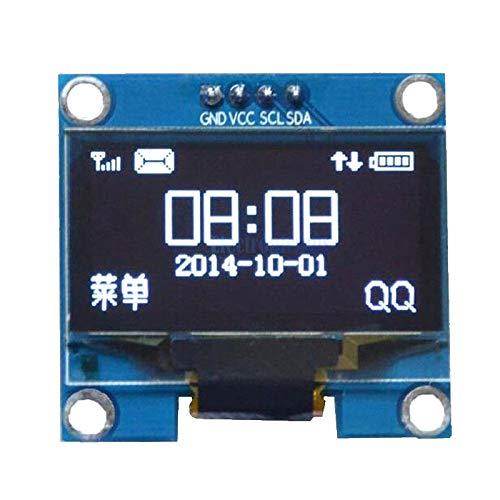 """1.3インチ1.3""""ホワイトoled液晶4pinディスプレイモジュールiic i2cインタフェース128 × 64用arduino"""