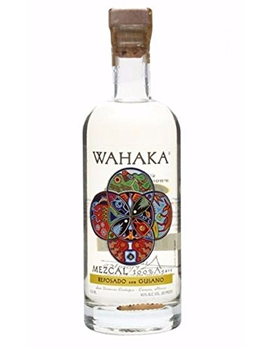 Wahaka Mezcal Reposado Con Gusano Not Applicable, 80.00 Proof, 0.75 (Mezcal Reposado)