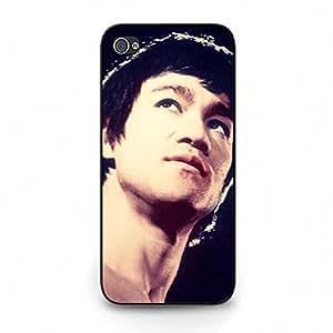 Earnest Bruce Lee Phone Case Cover for Ihpone 5c Bruce Lee Black Background