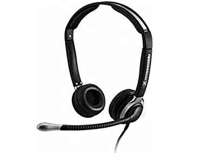 Sennheiser Binaural Headset with Ultra Noise-Canceling Microphone and Boom