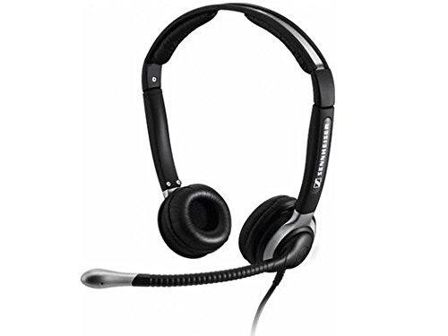 (Sennheiser CC 520 Binaural Headset with Ultra Noise-Canceling Microphone and Boom (Renewed))