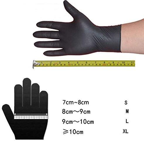 CHUANGE guanti monouso guanti in lattice nitrile per uso domestico guanti commerciali per uso medico guanti per alimenti confezione da 20 pezzi per pulizia universale sinistra e destra