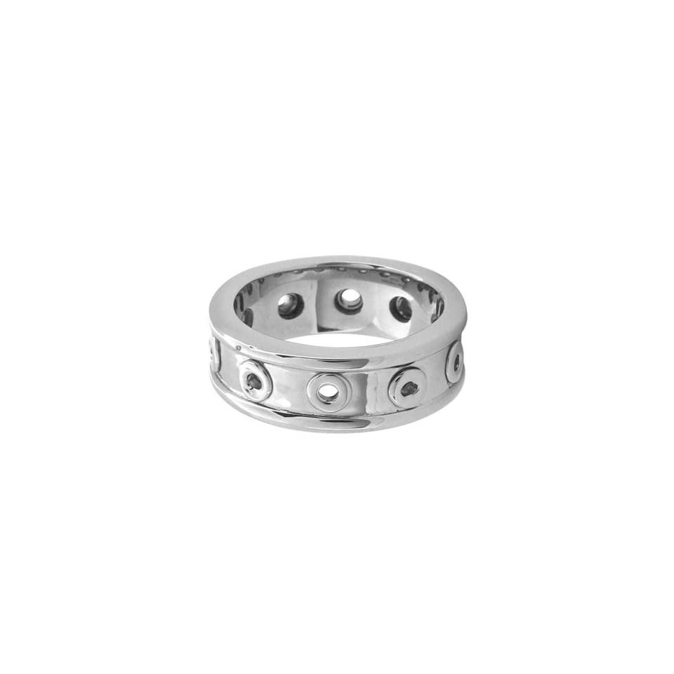 Size 9   Inox Jewelry Womens Boundless 316L Stainless Steel Ring