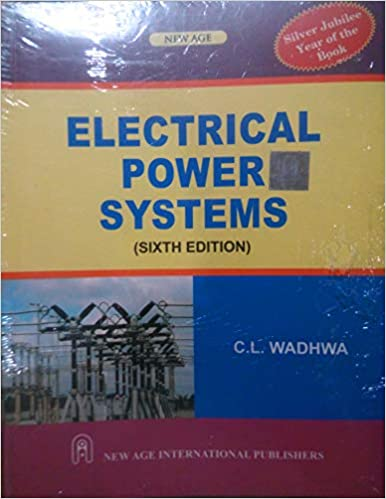 Electrical Power System Cl Wadhwa Ebook