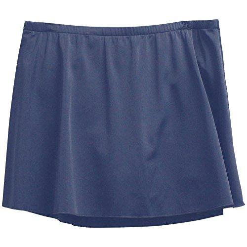 Caribbean-Joe-Womens-Plus-Size-Circle-Skirted-Bikini-Bottom-18-Navy