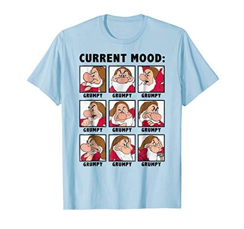 Disney Snow White Current Mood Always Grumpy Graphic ()
