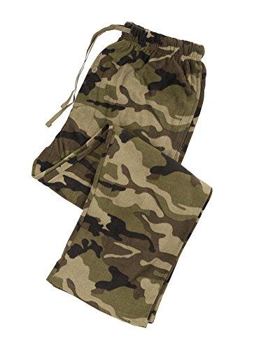 North 15 Men's Camo Super Soft Fleece Lounge Pants - X-Large, Camoprint2 - Lounge Pants Fleece
