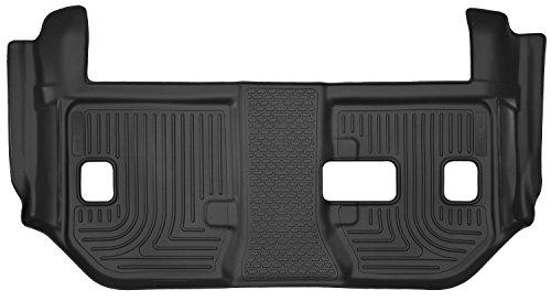 Black 3rd Seat Floor Liner (2015-2016 GMC Yukon - Husky Liners X-act Contour Series (3rd Seat Floor Liner) - Black)