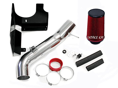 Red 2001-2004 Chevrolet Silverado / GMC Sierra 2500HD 3500 6.6 6.6L Duramax Turbo Diesel Heatshield AIR Intake KIT Systems