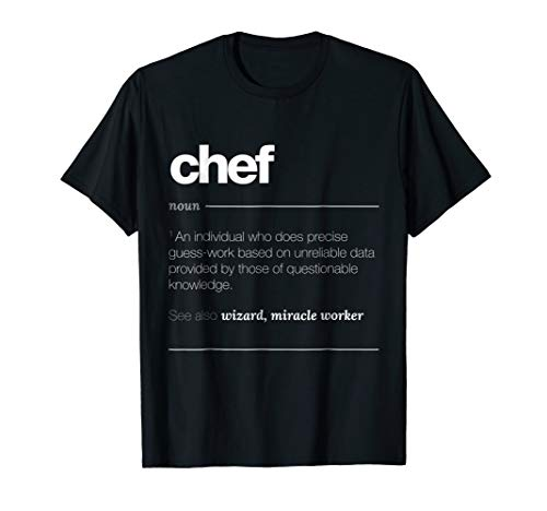 funny chef t shirts - 1