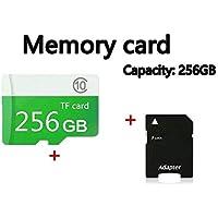 Leoie Phone Memory Card,Class10 TF Card 256GB 128GB 64GB SD High-Speed Mobile Phone Memory Card
