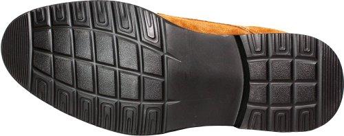 Calden K221212-2,6 Pollici Taller - Scarpe Per Ascensore Con Altezza Crescente (stringate In Pelle Scamosciata Marrone)