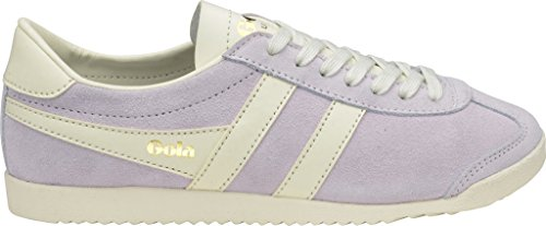 Gola Women's Bullet Suede Sneaker,Pastel Pink/Off White Suede,US 8 M