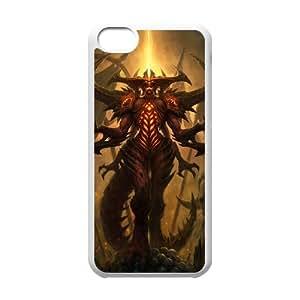 Diablo iPhone 5c Cell Phone Case White present pp001_9748120