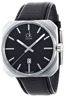 Calvin Klein Solid Men's Quartz Watch K1R21130