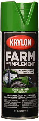 Krylon 1932 Krylon Farm & Implement Paints John Deere Green 12 oz. Aerosol Krylon Farm & Implement Paints